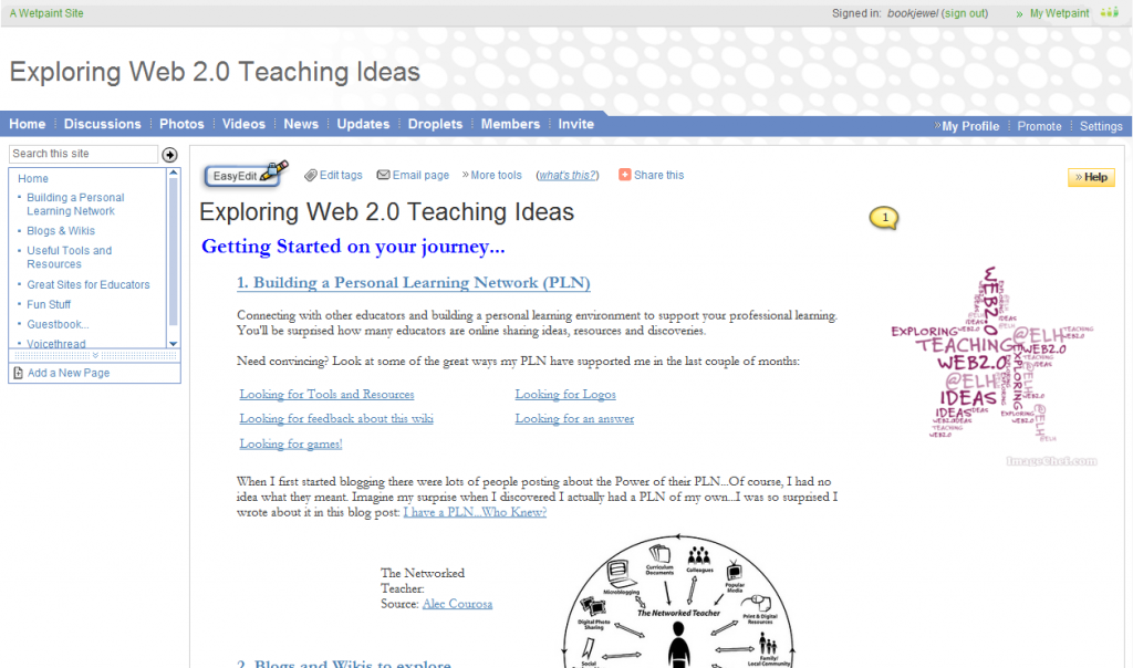 Exploring Web 2.0 Teaching Ideas